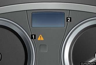 lexus dashboard warning lights es350